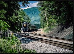 611 Returns (Michael Kline) Tags: railroad train virginia engine rail steam 611 fireup611