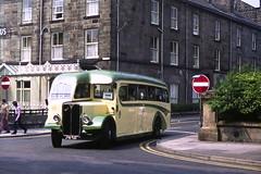 single deck bus (rosamund.smith) Tags: harrogate transpenninerun commercialvehicles bus singledeckerbus doubledeckerbus historicalvehicle aec burlingham aecregaliiiburlingham cumbriaclassiccoaches jtb749