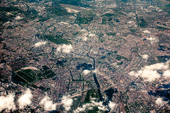 Berlin from above II (color) (phreekz.chmee) Tags: city berlin germany flight fromabove lh721