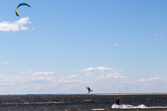KIte Surfing (aka Buddy) Tags: kite bay spring highlands nj surfing og sandyhook 2016