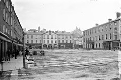 The Square, Fermoy, Co. Cork (National Library of Ireland on The Commons) Tags: square convent cocork countycork fermoy queenssquare glassnegative loretto riverblackwater robertfrench williamlawrence nationallibraryofireland loretoconvent ecotter lawrencecollection dhayes tmannix lawrencephotographicstudio thelawrencephotographcollection