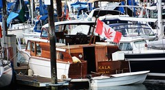 I'm Not a Botanist But I'm Pretty Sure That Is Not A Maple Leaf (Explore) (rabidscottsman) Tags: wood red white canada water vancouver marina boat leaf nikon bc britishcolumbia flag canadian falsecreek marijuana tamron thursday 18270 d7100 scotthendersonphotography tamron18270 nikond7100
