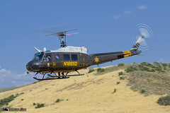 OCSD Hoist Training Duke 6 N186SD (PhantomPhan1974 Photography) Tags: huey sheriff orangecounty bellhelicopters uh1 ocsd uh1h ranchomissionviejo orangecountysheriffsdepartment phantomphan1974 n186sd ocsdasu