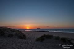 A bientt (Fabien Legagneur) Tags: sea sun mer sunlight canon landscape boats soleil eau dune sable cte ciel nuage paysage extrieur plage rivage ocan littoral eos500d blriotplage