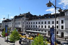 Stockholm Sweden.  Central Railway station. (Anne & David (Use Albums)) Tags: stockholm sweden centralrailwaystation aalborg warnemunde tallin saintpetersburg helsinki kielcanal
