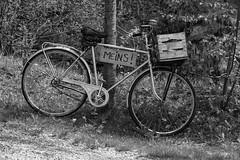 Mine! (Tobias Dander) Tags: white black bike mine weiss schwarz fahrrad meins fiets achenkirch achensee tobiasdander