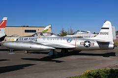 53-5205 T-33A Shooting Star - Preserved - Aerospace Museum of California, CA (David Skeggs) Tags: museum aircraft aeroplane mcclellan usaf usairforce shootingstar t33 aerospacemuseumofcalifornia davidskeggs