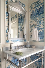 blue-and-white-wallpaper-chinoiserie-chic_cool-chic-style-fashion (Cool Chic Style Fashion) Tags: blue colors photography amazing pastel images paleblue happyweekend decorinspiration styleinspiration