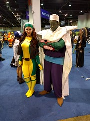 Awesome Rogue and Piccolo! (blueZhift) Tags: anime comics costume illinois cosplay manga rosemont videogames xmen convention rogue piccolo dragonballz acen 2016 dbz animecentral