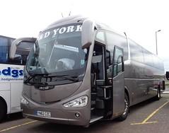 YN62CZC P&D of York in Blackpool (j.a.sanderson) Tags: new york coach december pd laser blackpool coaches 2012 daf irizar i6 llanharry yn62czc