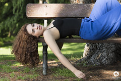 (Julio Jaime Snchez Verd) Tags: red portrait sexy beautiful beauty nikon chica head retrato modelo sensual pelirroja belleza