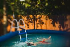 365-44 He loves a pool (Daniel A Ruiz) Tags: wood blue boy summer tree green water pool 50mm kid nikon df bokeh outdoor 18d project365 freelensing