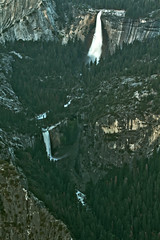 Nevada and Vernal Falls, Yosemite National Park (Mastery of Maps) Tags: california park ca trees green nature pine forest outdoors nationalpark spring natural yosemite yosemitenationalpark naturalbeauty sierranevada glacierpoint yosemitevalley usnationalpark 2016