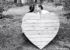 Love you (Mh :)) Tags: casamento beijo corao heart peb bew brancoepreto