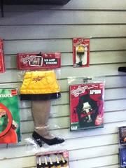 A Christmas Story merchandise (splinky9000) Tags: london ontario sunrise records neca a christmas story merchandise fishnet leg lamp stocking keychain apron