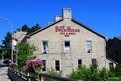 Brew House Pub & Grill, Fergus - IN EXPLORE (Lois McNaught) Tags: ontario canada architecture outdoor rustic limestone fergus oldbuilding stonebuilding brewhousepubgrill
