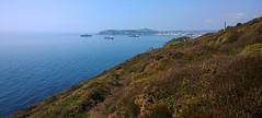 Looking towards Douglas from the coastal footpath in Onchan. (Chris Kilpatrick) Tags: chris sea nature water coast outdoor douglas isleofman onchan irishsea coastalfootpath nokialumia1020