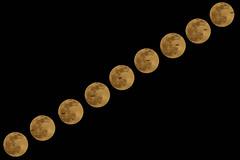 Plane Crosses Moon (theeqwlzr) Tags: moon night amazing nightlights jet astrophotography nightsky wtf southerncalifornia canonrebelxti sandimascalifornia moonandairplane