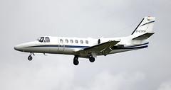 D-CYKP | Cessna 550 Citation Bravo | B-Air Charter | EIDW 20/03/2015 | CN 550-1017 | Built 2002 (Mick Planespotter) Tags: airport bravo aircraft cessna charter dublinairport citation 2015 bair collinstown eidw dcykp
