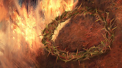 Glory! (Daniel Pintilei) Tags: illustration digital painting god jesus digitalpainting bible crown thorns crucifixion golgotha calvary passover isus dumnezeu iisus bibleart