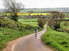 Up the hill 034 (saxonfenken) Tags: 6924people 6924 cyclist road northamptonshire spring fields rural village challengeyouwinner thechallengefactoryunam superhero game yourock gamex2 challengewinner challengwinner fotocompetition fotocompetitionbronze bigmomma grandmother 15challengeswinner friendlychallenges