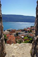 Look through the old fortress window, Herceg Novi (Andrey Sulitskiy) Tags: montenegro hercegnovi