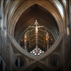 the Rood, Wells Cathedral (Philip Watson) Tags: cathedral wells somerset wellscathedral rood scissorarches