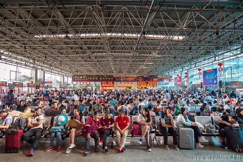 Dworzec w Kunming