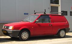 1992 Volkswagen Polo 1.3 Fox Van (rvandermaar) Tags: vwpolo volkswagenpolo sidecode4 grijskenteken 1992 volkswagen polo 13 fox van vp34zp rvdm
