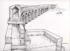 Esempio di acquedotto disegno di Vannozzi1