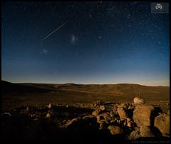 Meteorito sobre la estepa