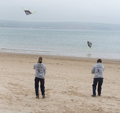 Flying Fish - Weymouth Kite Festival 2016 (dorsetbays) Tags: sea england kite beach festival fly flying event dorset weymouth flyingfish weymouthkitefestival weymouthkitefestival2016