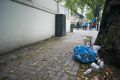 20160531-14-34-36-DSC01081 (fitzrovialitter) Tags: street england urban london westminster trash geotagged garbage fitzrovia unitedkingdom camden soho streetphotography documentary litter bloomsbury rubbish environment paddington mayfair westend flytipping marblearch dumping cityoflondon marylebone captureone gpicsync peterfoster fitzrovialitter followthisroute