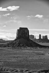 Vertical Look in Black and WHite (jpmckenna - Denali Bound) Tags: road trip arizona landscape desert highdesert monumentvalley navajotribalpark getoutside iconicamericanwest
