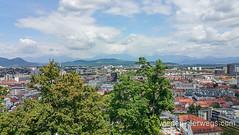 Green Ljubljana - #wiederunterwegsSLO2016 (WIEDERUNTERWEGS.com) Tags: city dogs nature slovenia ljubljana slowenien sup laibach ljubljanica hotelpark ifeelslovenia urbanandgreen bananaway