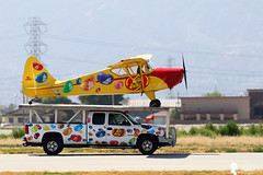 JELLY BELLY AIRPLANE DEMO (Steven Weng) Tags: canon airplane demo aircraft aviation fame belly planes jelly chino aerobatic 2016 of airsjow eos7d2