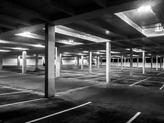 Parking Lot (adamlapish) Tags: atlanta usa georgia parkinglot carpark buckhead iphone