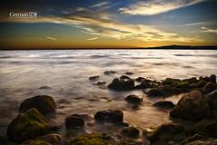 Getting dark (German SC) Tags: longexposure autumn sea sky water clouds landscape mar spain mediterranean silk cel natura catalonia catalunya seda aigua salou posta tardor nuvols paisatge mediterrani tamron1750f28 llargaexposici atravsdelvisor sonyalphadslta65 germansc