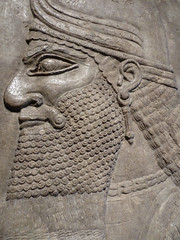 Assyrian Relief. Art Institute, Chicago (mike catalonian) Tags: sculpture stone relief assyrian ancientassyria