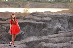 -5 (Pavlo Kuzyk) Tags: lake nature girl canon pretty dress ukraine heels quarry