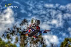 Falcon drone Hovering