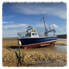 Erebus - Meols (Katybun of Beverley) Tags: erebus beach shoreline shore beached meols beachedboat thewirral