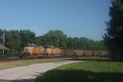 53552 (richiekennedy56) Tags: usa lawrence unitedstates kansas unionpacific ac44cw railphotos douglascountyks donballcurve up5970 up6448