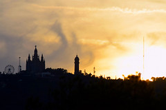 Castles in the sky (satishsa) Tags: barcelona spain catalunya catalonia spanish castles mountains