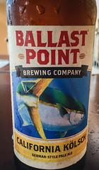 Ballast Point California Kölsch Pale Ale - San Diego CA (mbell1975) Tags: california ca usa beer america point us san unitedstates sandiego cerveza ale diego pale calif cal american bier cerveja birra bière piwo kölsch biere ballast pivo bira øl