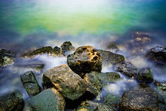 Rocks (tim_poole) Tags: tampa lens bay nikon long exposure tokina nd10 d7100
