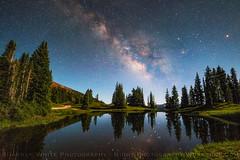 Heaven on Earth (Darren White Photography) Tags: nightphotography colorado milkyway alpinelakes