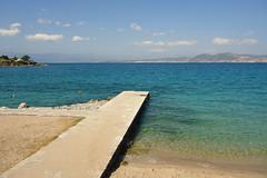 ~ Agios Minas Beach (Argyro...) Tags: sea sky seascape beach water greece chalcis   agiosminasbeach