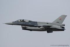 Iraqi Viper at Tucson Intl. Airport (JetImagesOnline) Tags: iraqi air force viper f16 fighting falcon jet fighter tucson international airport lockheed martin