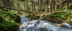 Water Stream (WaleriBykowski) Tags: 2016 davos langzeitbelichtung monstein gebirge gebirgsbach bach water stream alpen alps mountains sonya6000